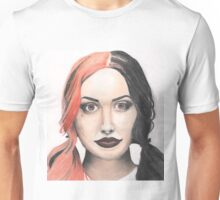 Portrait of Ash Costello Unisex T-Shirt