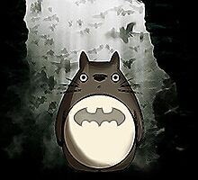 Totoro - The Dark Knight by LanFan