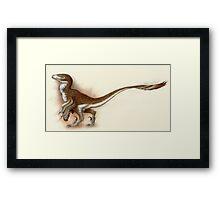 Deinonychus Study Framed Print