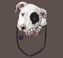 Pocket Puppiez - Pit Bull by doggyline