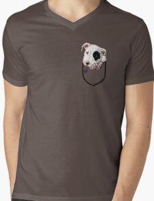 Pocket Puppiez - Pit Bull Mens V-Neck T-Shirt