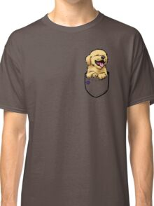 Pocket Puppiez - Golden Retriever Classic T-Shirt