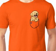 Pocket Puppiez - Golden Retriever Unisex T-Shirt