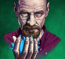 Heisenberg (Breaking Bad) by AndreaMangiri