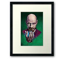 Heisenberg (Breaking Bad) Framed Print