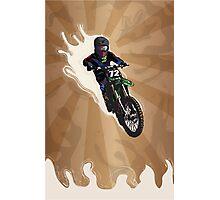 Motocross jump Photographic Print