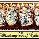 Blueberry Loaf Cake by ©The Creative  Minds