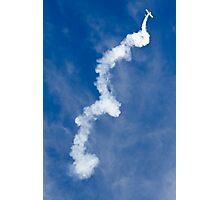 aerobatic  aircraft in suspension Photographic Print