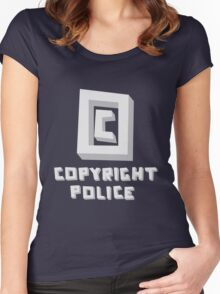 Copyright Police Women's Fitted Scoop T-Shirt