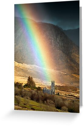 Church Under The Rainbow by Derek Smyth