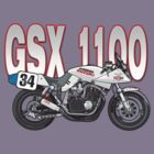 Suzuki GSX1100 Katana by Steve Harvey