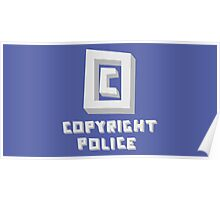 Copyright Police Poster