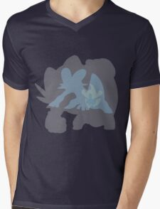 Swampert Mens V-Neck T-Shirt