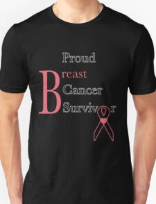 Proud Breast Cancer Survivor T-Shirt