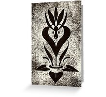 Sweet Mythology Graphic Design Greeting Card