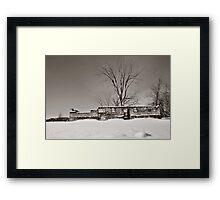 Winter Foundation Framed Print