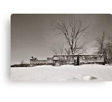 Winter Foundation Canvas Print