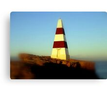 Obelisk on Cape Dombey Canvas Print