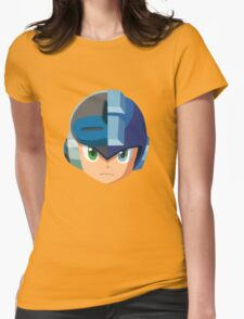Mega Man-Mighty No. 9 Womens Fitted T-Shirt