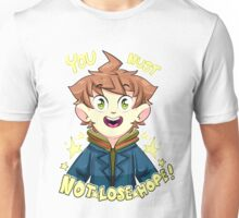 mokoto naegi- you must not lose hope shirt Unisex T-Shirt