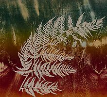 Printmaking: Final Fern Fronds by Marion Chapman