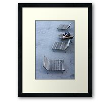 South Street Seaport Framed Print