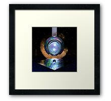 Now You See Me. Now You Don't. // Seeking Comfort In Those Lights (Variation) Framed Print