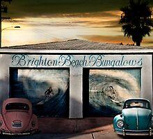 BRIGHTON BEACH BUNGALOWS by Larry Butterworth