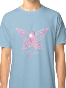 Breast Cancer Hope Butterfly Classic T-Shirt