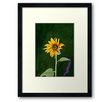 My One and Only… Sunflower Framed Print