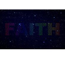 Faith 3 Photographic Print