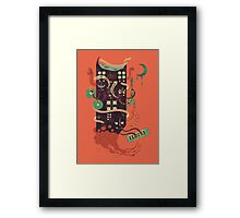 Power Trio Framed Print