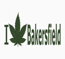 0133 I Love Bakersfield  by Ganjastan