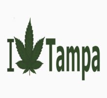 0134 I Love Tampa by Ganjastan