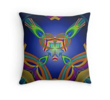 Cross Your Heart Throw Pillow