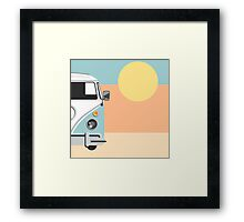 The Van of the Future Framed Print