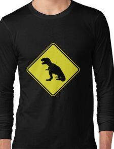 T-Rex Crossing Long Sleeve T-Shirt