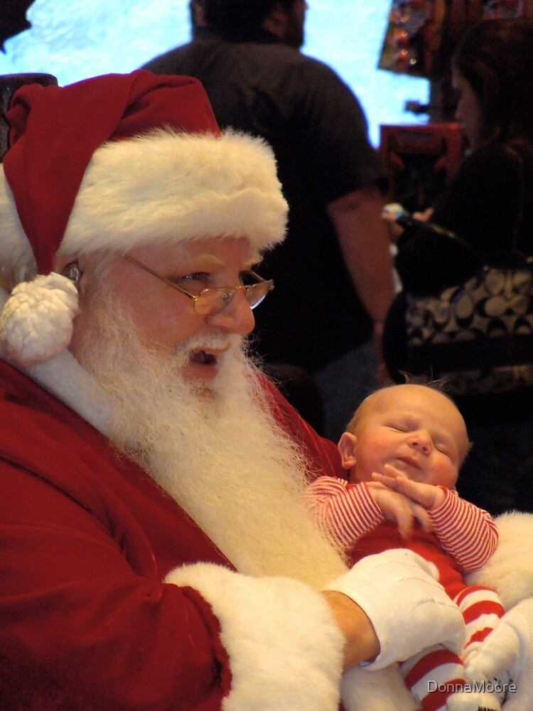 First photo with Santa.... by DonnaMoore