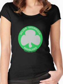 Silver Shamrock Novelties Women's Fitted Scoop T-Shirt