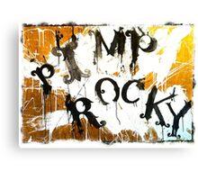 PIMP ROCKY logo - Paul Ryan & Niklas Henke Canvas Print