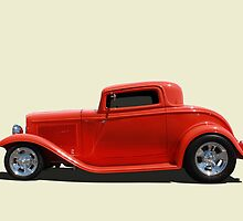 1932 Ford 3 Window Coupe by Keith Hawley