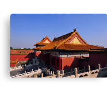 The Forbidden City, Beijing, China. Canvas Print