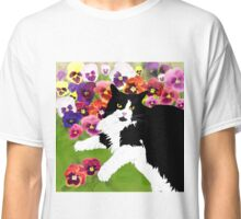 Cat Middy in A Garden Classic T-Shirt