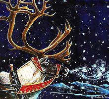 The Reindeer by Kristen Girard