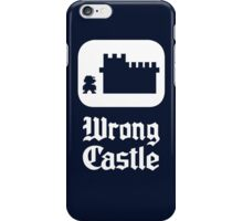 Wrong Castle iPhone Case/Skin