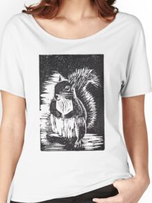Squirrel: Ready for Winter Women's Relaxed Fit T-Shirt