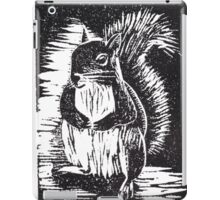 Squirrel: Ready for Winter iPad Case/Skin