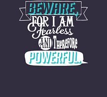 Beware Womens Fitted T-Shirt