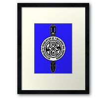 Intergalactic Association of Timelords and Companions Framed Print