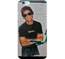 Lou Reed Poster iPhone Case/Skin